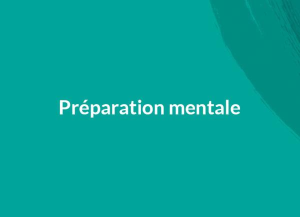 Hypnose et la préparation mentale